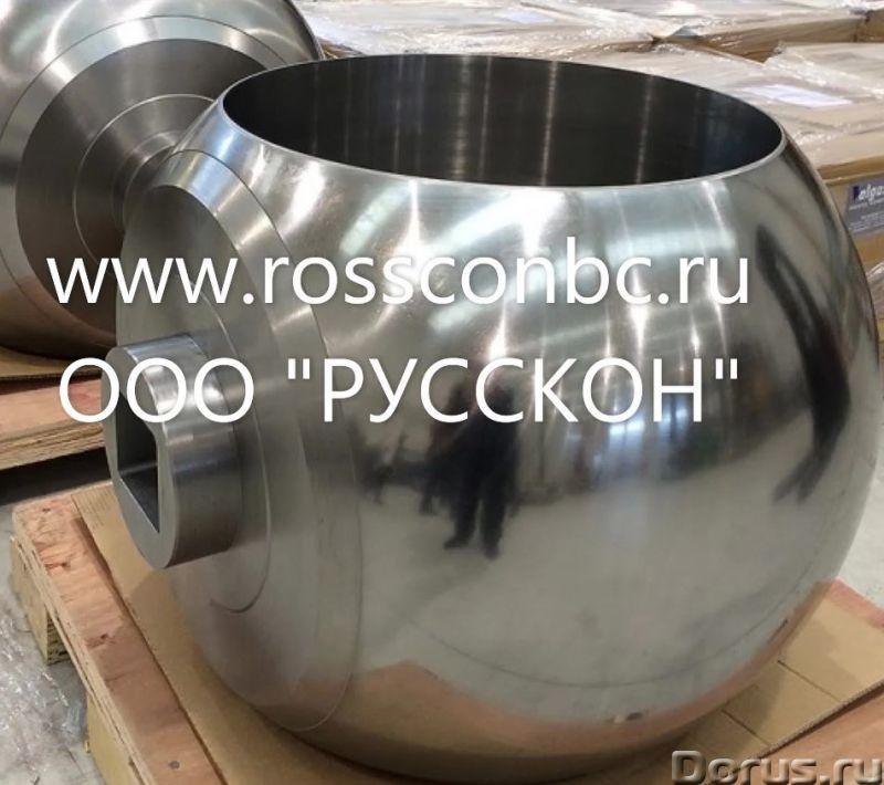 Шары для шаровых кранов, комплектующие для запорной арматуры - Товары промышленного назначения - Шар..., фото 1