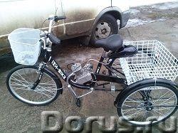 Грузовой трехколесный велосипед с мотором cb-80 - Мотоциклы, мопеды - В сельской местности, на даче..., фото 2